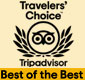 Travellers' Choice 2013-2018 - Top 20 B&Bs and Inns in Israel, Top 25 in the Middle-east
